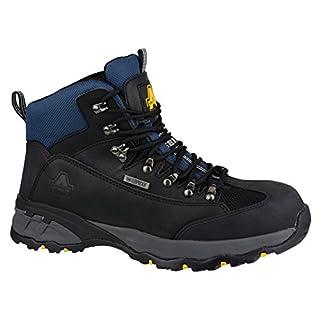 Amblers Steel FS161 Waterproof Boot / Mens Boots / Safety Footwear (15 UK) (BLACK)