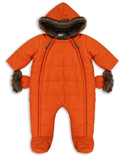The Essential One - Bebé Pelaje Sintética Snowsuit / Traje de Esquí - Naranja - 3-6 meses - EO259