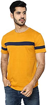 i Care Mens Slim Fit Half Sleeve Beefy Fashion Casual Henley T Shirts of Cotton Shirts