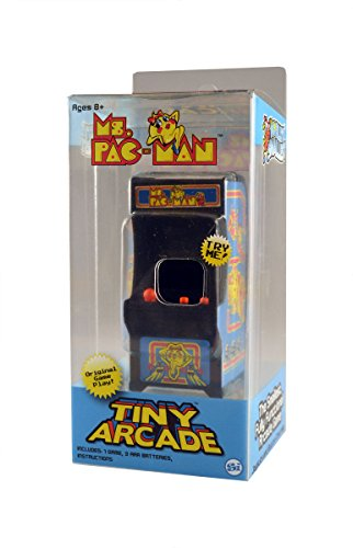 Pac-Man Tiny Arcade Playable Miniature Video Game - Ms
