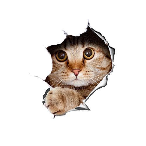 Almohadilla para el ratón Antideslizante Resistente a la resbalón súper Delgada Almohadilla para el ratón Creativa Hermosa Imagen de un Ciervo de un Gato útil para el Juego