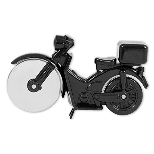 Pizza Cutter 6 (Pizzaschneider Motorrad / Motorbike Pizza Cutter in schwarz)