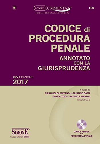 CODICE DI PROCEDURA PENALE - ANNOTATO CON LA GIURISPRUDENZA + CD-ROM*