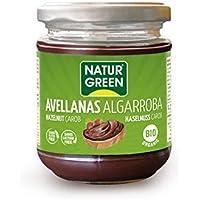 NaturGreen Crema untable de Avellanas Algarroba - 200 gr.