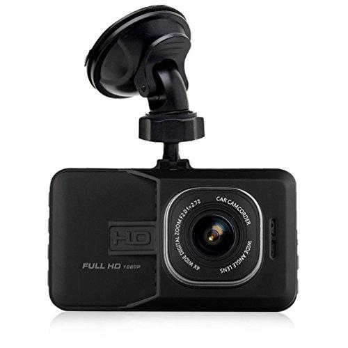 """Maxesla Autokamera Full HD 1080P mit Mikrofon 170° Weitwinkelobjektiv Dashcam 3.0"""" LCD Automatische Loop-Zyklus Aufnahme, G-Sensor und Bewegungserkennung Versteckte DVR Auto Kamera"""