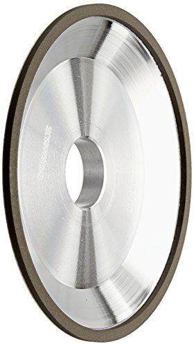 """hhip d12a2Gericht Diamant & CBN Rollen (verschiedene Rand Breite: 3/40,6cm–3/20,3cm), 6"""" Diameter, 1"""" Thickness, 3/16"""" Rim Width, 1"""