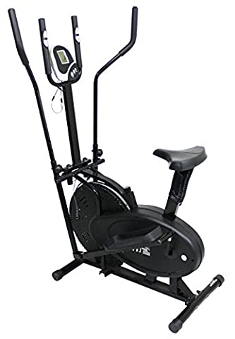Olympic ES-925D Elliptical Cross Trainer Bike - Black