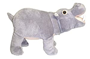 14 Standing Farting Hippo Plush Stuffed Animal Toy