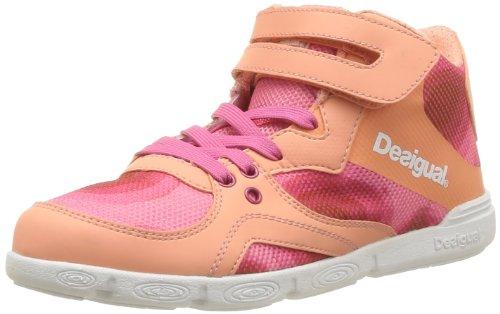 Desigual SNEAKER TENDENCIA, Sneaker donna Rosa (Pink (ROSA VENTO 3018))
