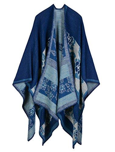 MatchLife Femme Automne longue écharpe Wrap Shawl Art10