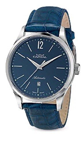 Orologio Uomo Capital Time AT1048 Automatic Con Cinturino In Vero...