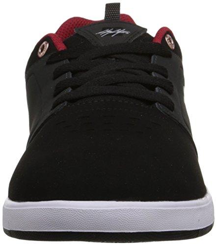 DC Men's Cole Signature Skate Shoe, Black/Red, 10 M US Black/Red