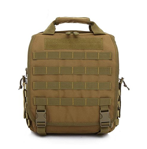 Wmshpeds Gli uomini dell'esercito Tactical Pack Borsetta donna spalla illimitato borsa messenger in tela digitale multifunzionale Outdoor Camouflage Pack F