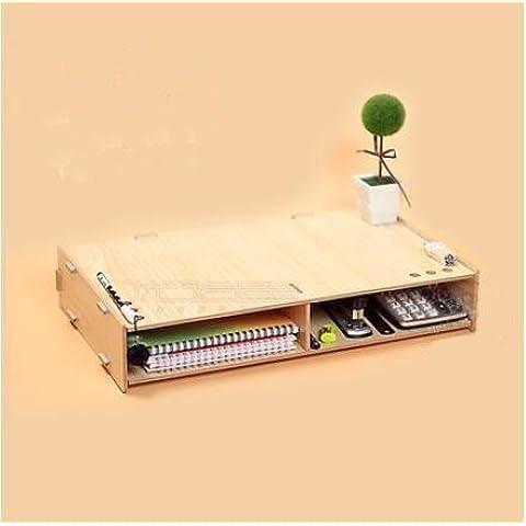 ZR Supporto per notebook. Aumento mensola. base del computer. monitor dello schermo maggiore staffa staffa di mensola desktop di storage , 3