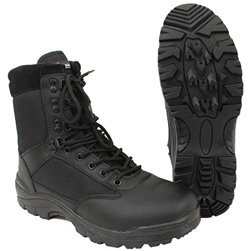 Mil-Tec Tactical Boot Black Two Zip