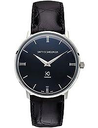 1daacc587539 Smith   smoorcer Fisherman Dusk Luxury Black Reloj para Hombre Analógico de  Cuarzo Suizo con Brazalete