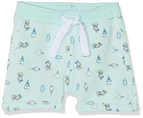 NAME IT Baby-Jungen Nbmdonald Grayson Wdi Shorts, Mehrfarbig (Clearwater), (Herstellergröße: 74)