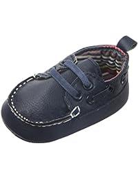 Jimmackey Neonato Calzature Flats Camminatore del Bambino Scarpe Fagioli Pu  Morbido Bottom Scarpe 7e6bda90142