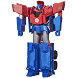 Transformers - Figura Optimus Prime 3 Pasos Mágicos (Hasbro B0899ES0)