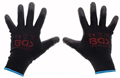BGS Mechaniker-Handschuhe, Größe 10 / XL, 1 Stück, 9954 Dachrinne Handschuh
