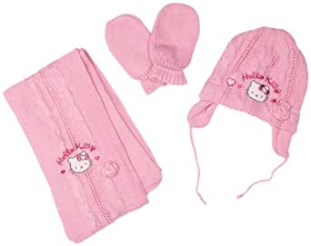 Hello Kitty Elvis HM4075 Baby Girl's Hats Pink 6 Months