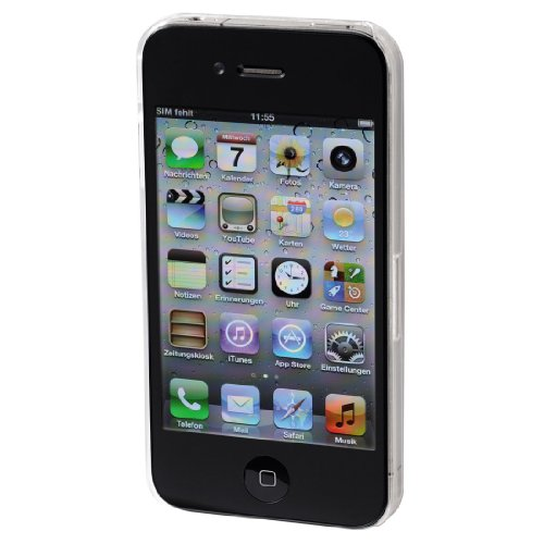 Hama Slim Handy-Cover für Apple iPhone 4/4S transparent transparent