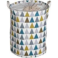 Wetry Multifunktionale Kinderzimmer W/äschekorb Faltbar Wasserdicht W/äschebox W/äschesammler Aufbewahrungsbox Kinder Spielzeug Aufbewahrungskorb mit Deckel