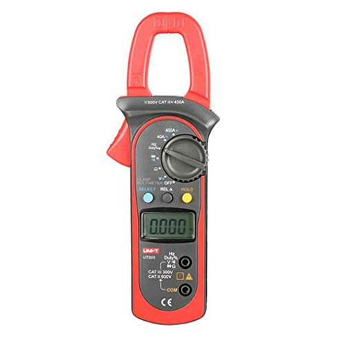 Lafyho Uni-T UT203 DC/AC-Spannung Strom Digital-Clamp Meter LCD Digital Batteriebetriebenes Auto Range Clamp Power Clamp Meter