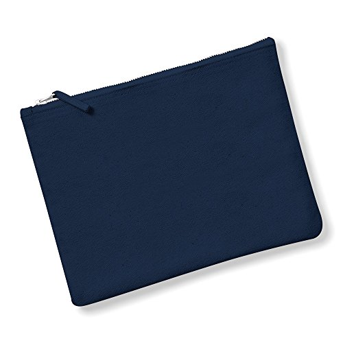 Westford - Trousse de rangement en toile (M) (Bleu marine)