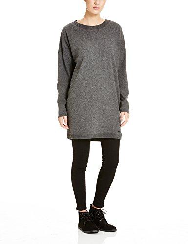 Bench Damen Kleid Token, Grau (Dark Grey Marl GY006X), 34 (Herstellergröße: XS)