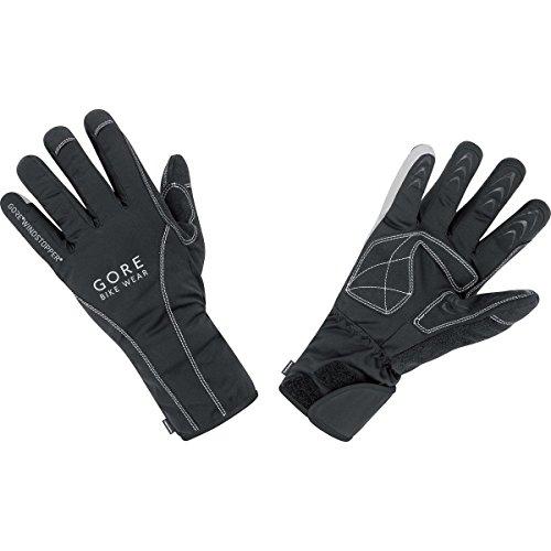 GORE BIKE WEAR Herren Thermo-Rennradhandschuhe, PrimaLoft Isolation, GORE WINDSTOPPER, ROAD WS Thermo Gloves, Größe 9, Schwarz, GROADD