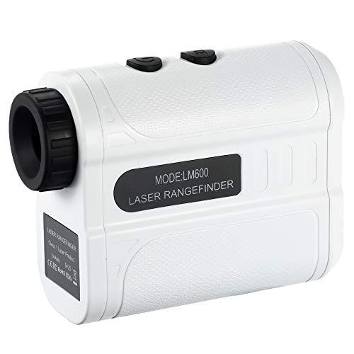 Festnight 600 m Golf Entfernungsmesser Handheld Entfernungsmesser Geschwindigkeit Tester Digital Monocular Teleskop Entfernungsmesser M/Yard Entfernungsmesser für Golf Jagd Engineering Umfrage Bau