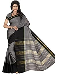 Harsh Sarees Cotton Saree (Gud-1306_Grey)