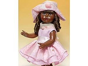 Mariquita Pérez- Vestido Época organdi Rosa con Sombrero Complementos, Color (Comercial de Juguetes Maripe SL 1)