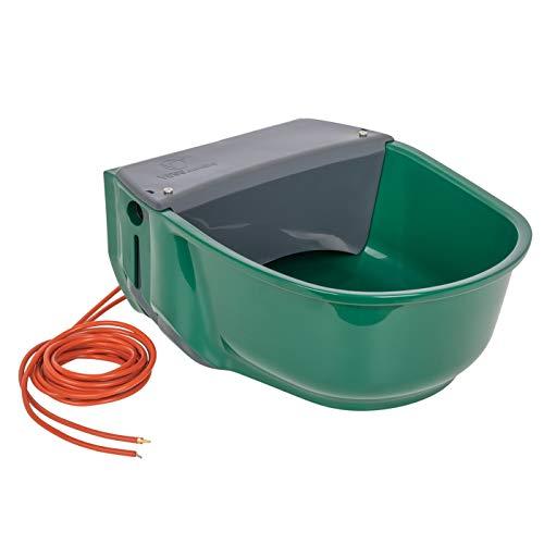 VOSS.farming beheizte Schwimmertränke Thermo S35-230V | 31 Watt | 230V | automatisches Thermostat | Spezialkunststoff | Frostschutz Pferde Rinder Galloways Schafe Ziegen Hunde Tränke Selbsttränke