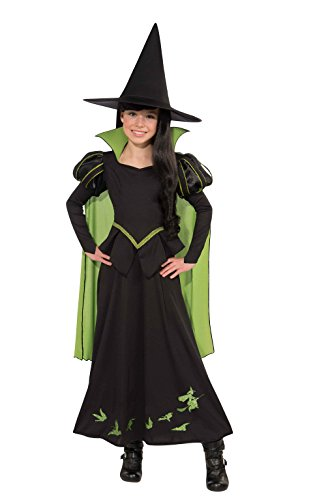 Kostüm Hexe Aus Wizard Oz Of - Rubie 's OFFIZIELLER The Wizard of OZ The Wicked Witch of The West, Kind Kostüm - Large (8-10 Jahre)