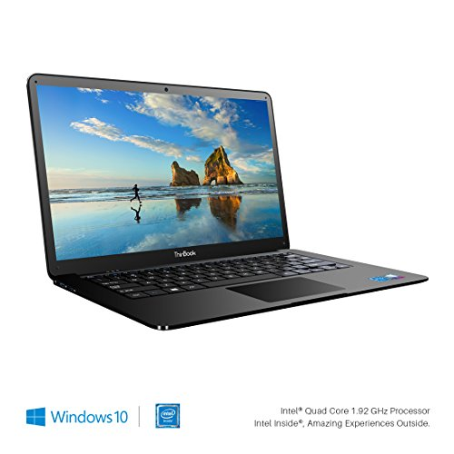 RDP ThinBook 1430-EC1 14.1 inch Laptop (Intel 1.92 GHz Quad Core/2GB RAM/32GB Storage/Windows 10/Ultraslim Metallic Grey Finish with Thin Bezel)