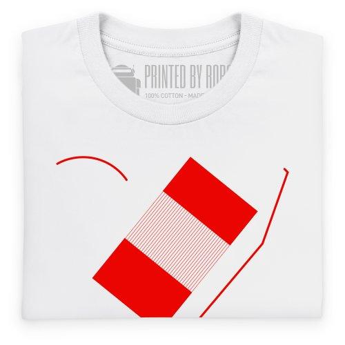 Estadio Municipal de Braga T-Shirt, Herren Wei