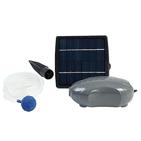 Ubbink Air Solar 100 Teichbelüftungspumpe Solarbetrieb (Brunnen Belüfter)