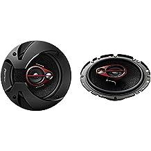 Pioneer TS-R1750S - Altavoces para coche de 250W, negro