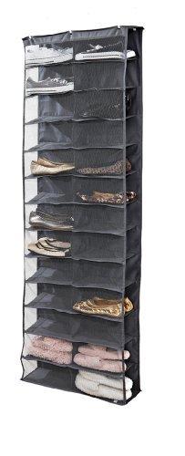 simplify-26-pocket-over-the-door-shoe-organizer-grey-by-simplify
