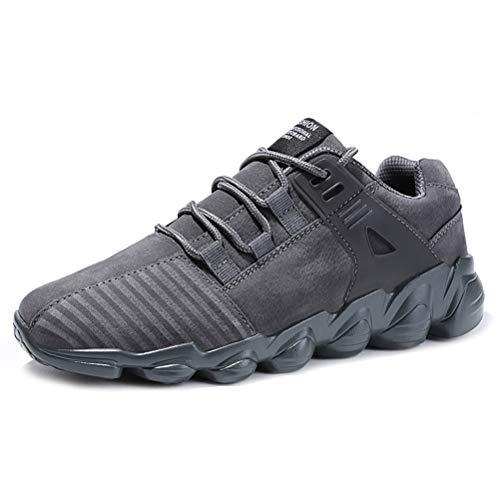Herren Sportschuhe Frühling Outdoor Komfortable Rutschfeste leichte Laufen Walking Sneaker atmungsaktiv Lace Up Trainer -