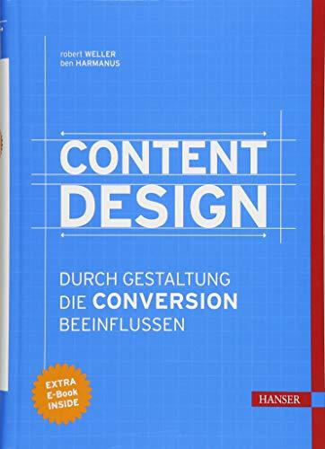 Content Design: Durch Gestaltung die Conversion beeinflussen Buch-Cover