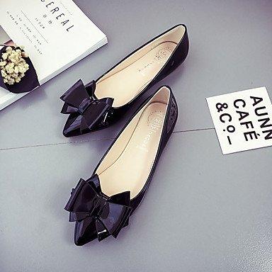 Confortevole ed elegante piatto scarpe donna Appartamenti Primavera Estate altri PU Casual tacco piatto altri nero rosa rosso grigio gray
