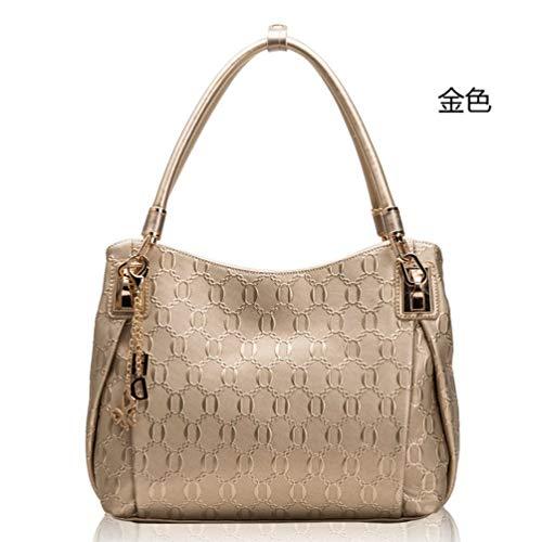 Yetta Umhängetasche Damen Handtasche weibliche Tasche handtaschen für Frauen Leder Cross Body Schulter Slouch Bag Handtasche Mit Casual Vintage Damen Leder Schultertasche