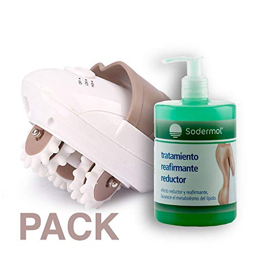 Pack : Masajeador eléctrico anticelulitico + Gel
