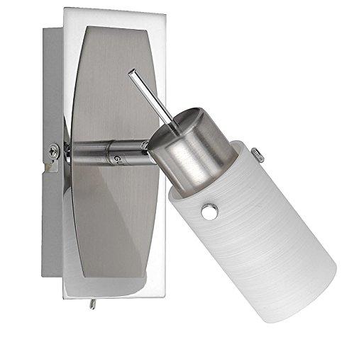 led-wandleuchte-in-nickel-matt-glas-gewischt-wandlampe-inklusive-gu10-1x4watt-warmweisse-lichtfarbe-