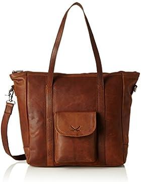 Sansibar Damen Shopper Bag Henkeltasche, 10x35x34 cm
