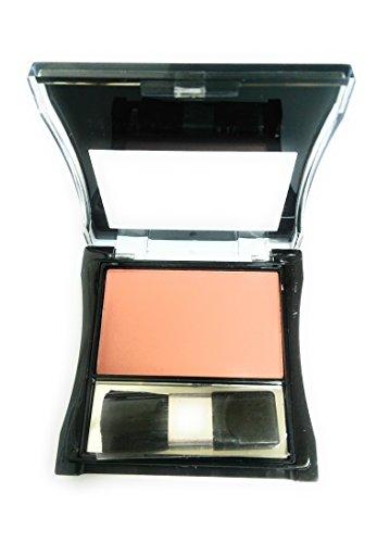 Rouge Blush (takestop® Blush Rouge Kompakt Japanische Farbe leuchtet Leder Gesicht Wangen Damen Schminke Kosmetik Make up Naturale_01)