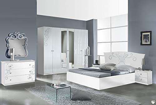 LIGNEMEUBLE Talisman - Conjunto Dormitorio Armario